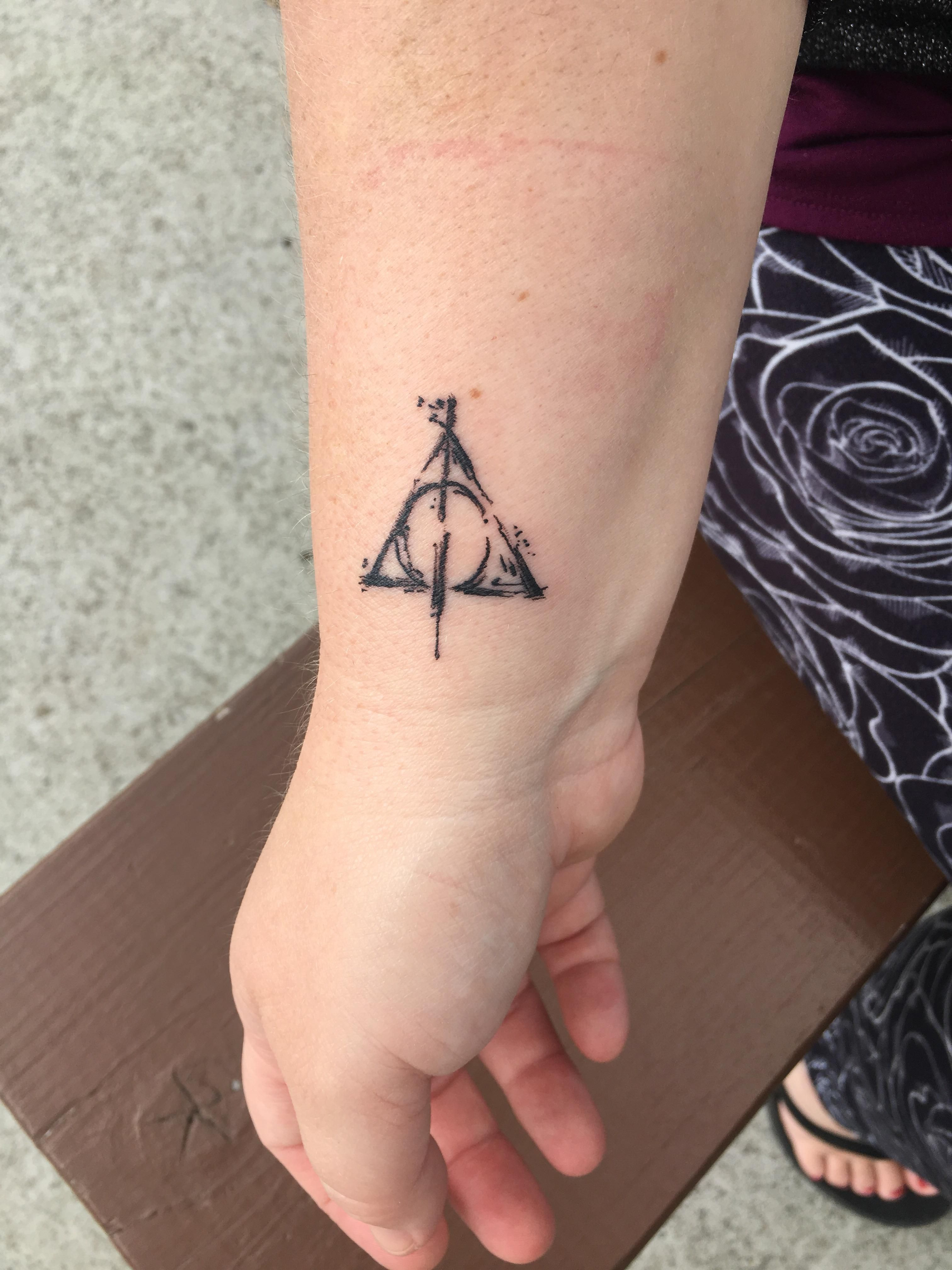 Deathly Hallows By Emily At Five Star Tattoo Co In Battle Ground