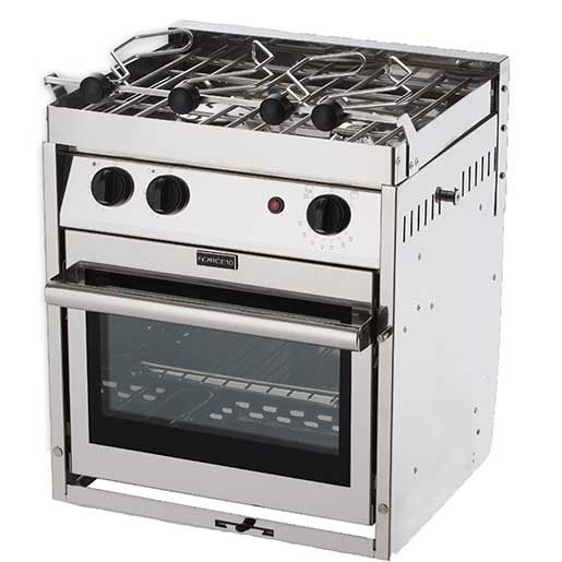 Force 10 Two Burner Gourmet Galley Gimbaled Propane Ranges Gas