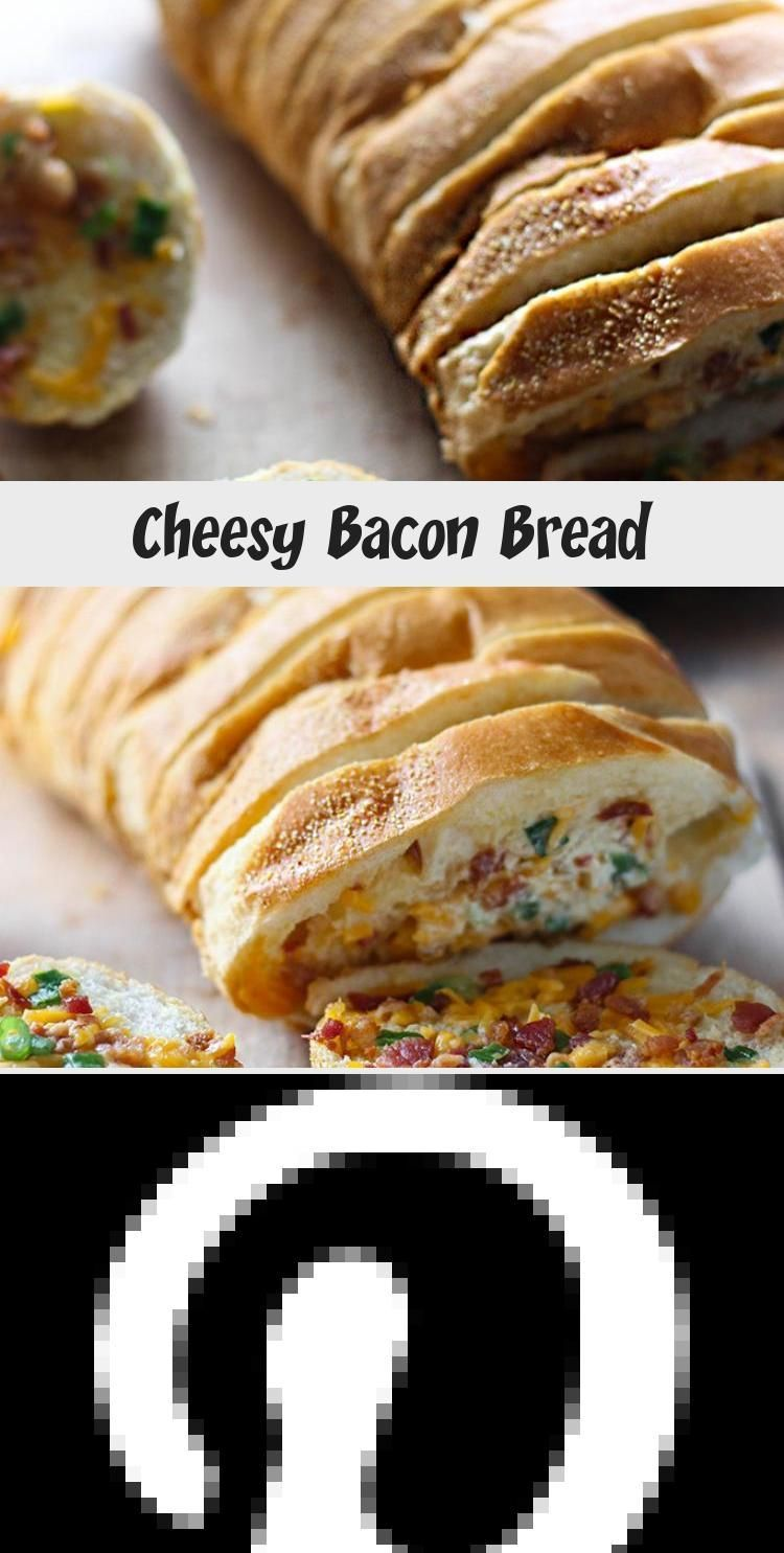 CHEESY BACON PANE - The perfect food for parties, game snacks or appetizers ... CHEESY BACON PANE -