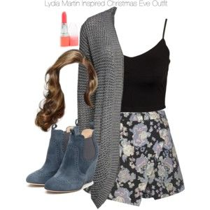 Teen Wolf - Lydia Martin Inspired Christmas Eve Outfit