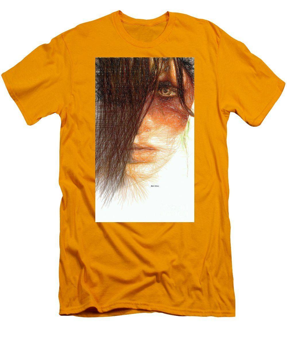Men's T-Shirt (Slim Fit) - Studio Portrait In Pencil 215