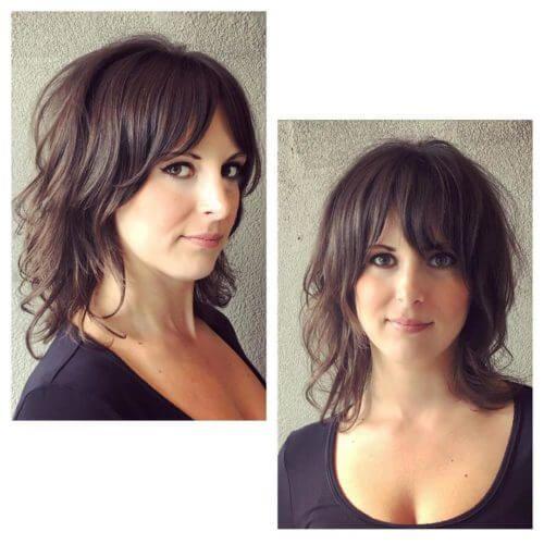 24 meilleurs coiffures pour les filles avec des cheveux