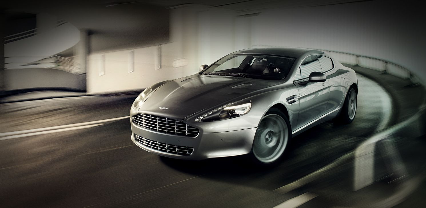 The sexiest sedan in the world the aston martin rapide as decided by esquire magazine