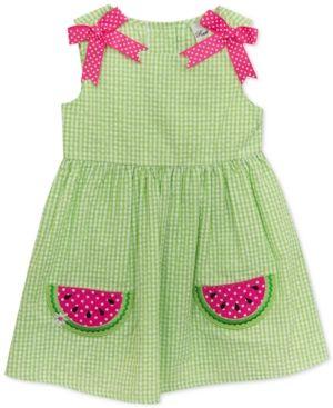 Made To Order Handmade Pink Tartan Baby Dress Sizes 6m..9m..12. 18-24months.