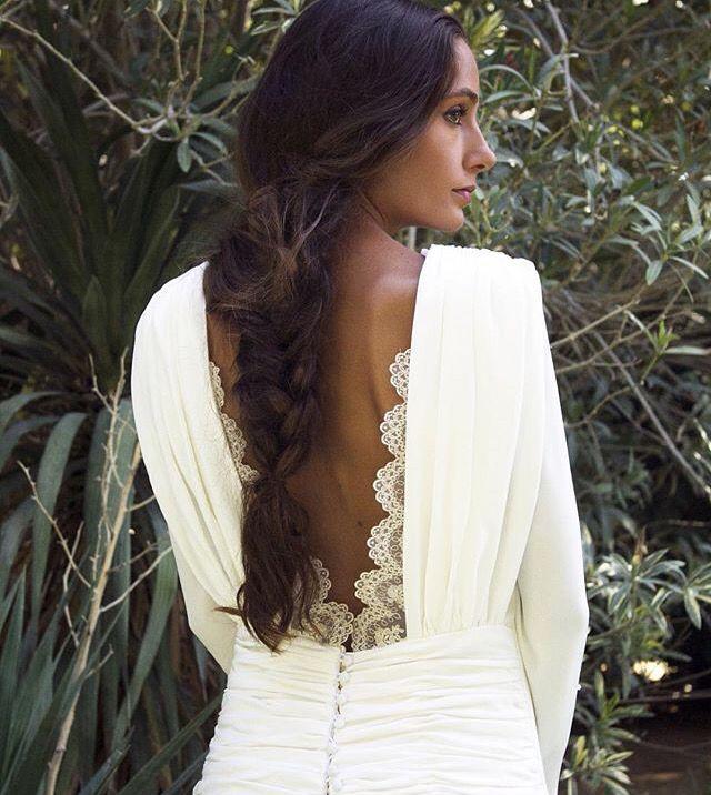Un peinado sutil y romántico para el día de tu boda.