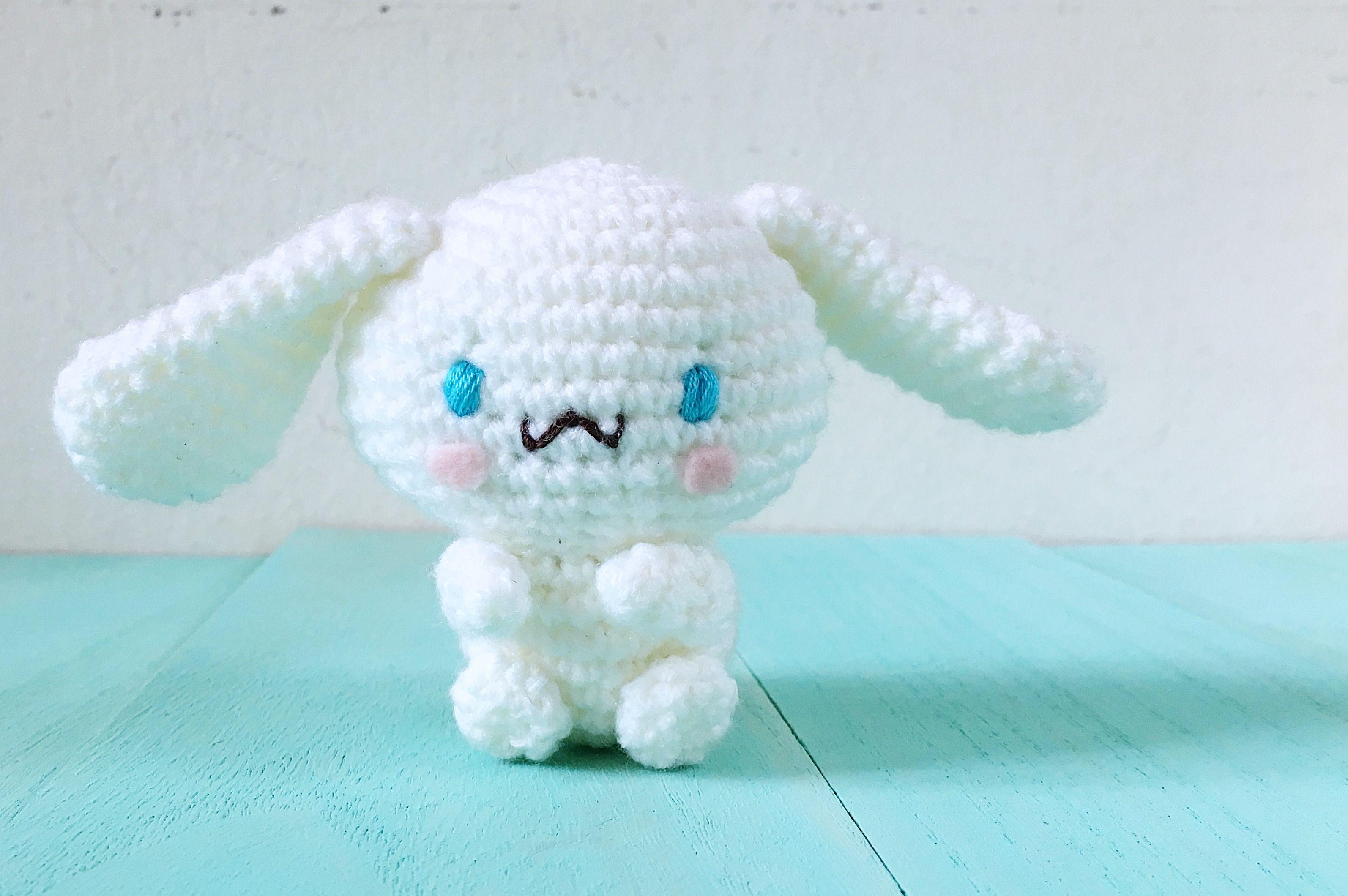 Amigurumi Patterns Sanrio Free : Cinnaroll bunny amigurumi pattern crochet stuffies amigurumi