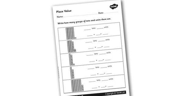 Place Value Worksheet - place value, number worksheet, ks2 - place value worksheet