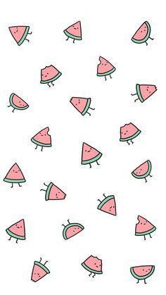 watermelon uploaded by eline ❀ on We Heart It