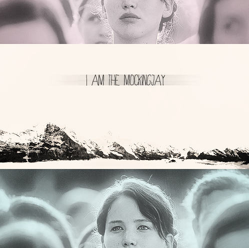 I am the Mockingjay - Katniss in the Hunger Games