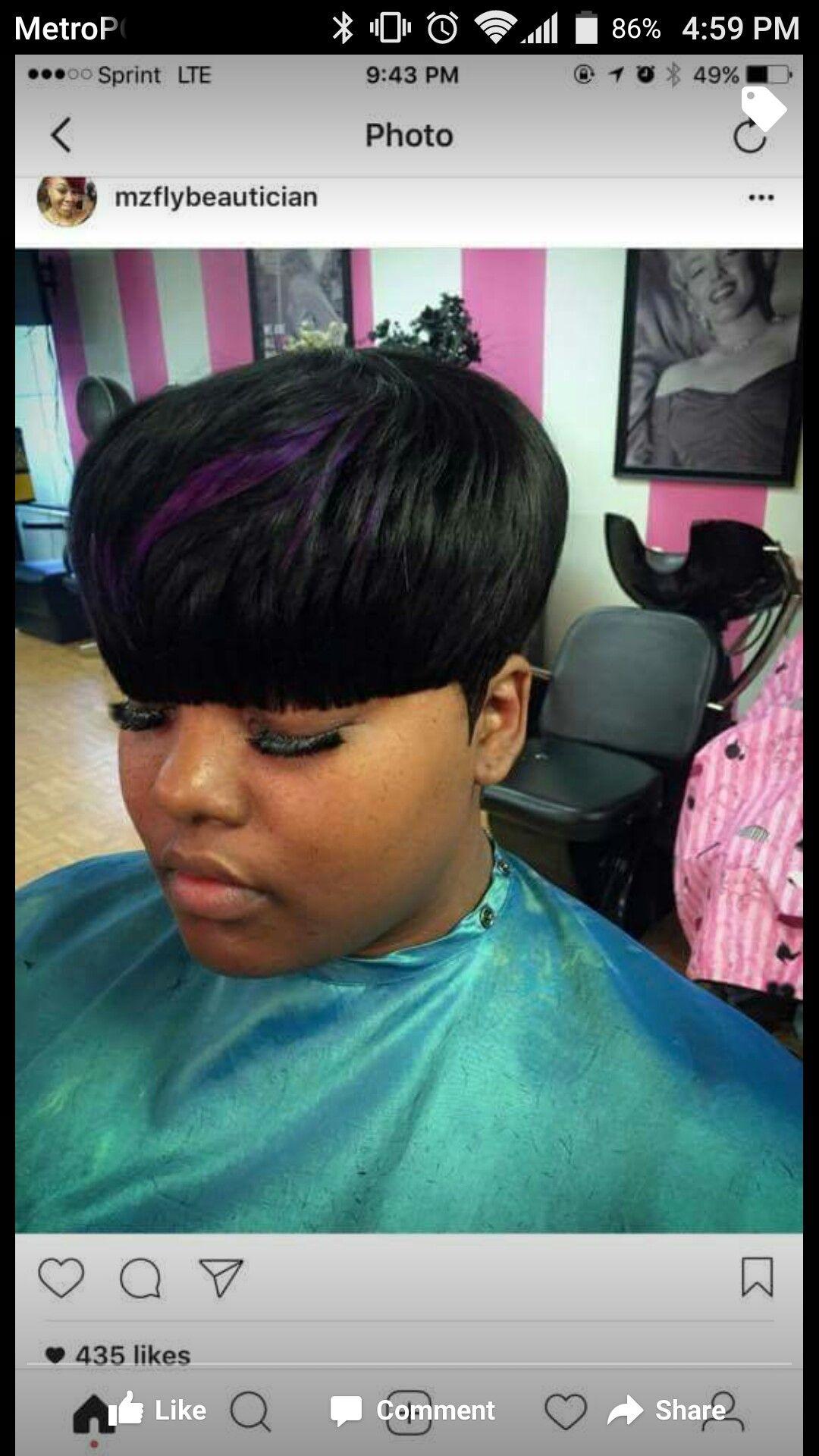 woman mushroom cut. black woman hair   screenshots in 2019