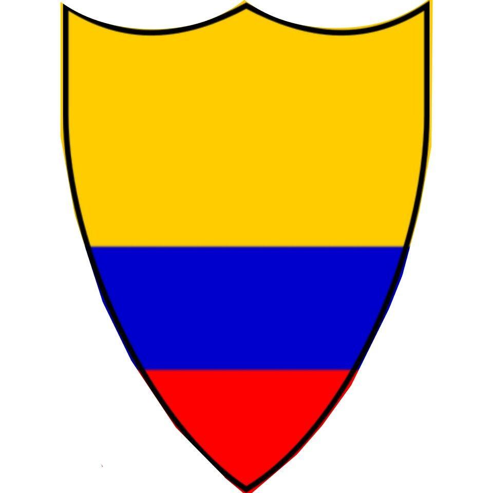 Escudo Colombia 1945 Federacion Colombiana De Futbol Escudo