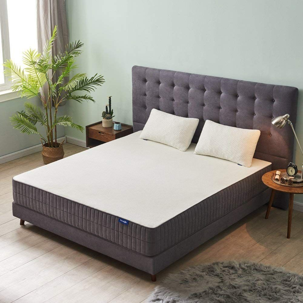 Queen Mattress Sweetnight 10 Inch Gel Memory Foam Mattress In A Box Certipurus Certified Foam Queen Mattress Size Memory Foam Mattress Foam Mattress