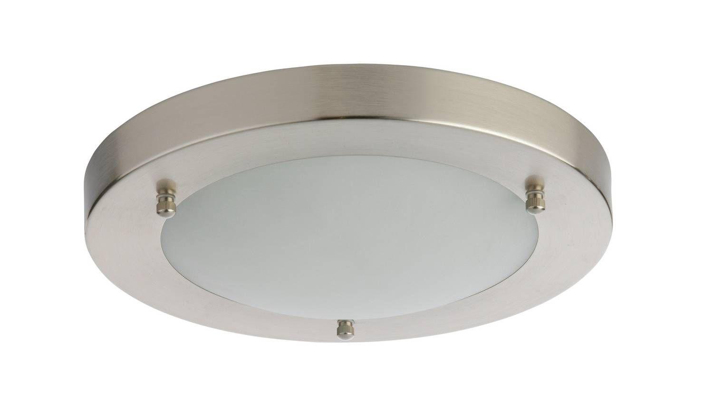 Buy Argos Home Bowdon Led Flush Bathroom Ceiling Light Bathroom Lights Ceiling Lights Bathroom Ceiling Light Bathroom Ceiling