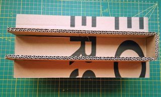 Cardboard Shelving Without Screw Nor Glue... #cardboardshelves or How to do a shelving which costs nothing #cardboardshelves