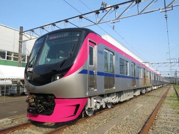 京王電鉄 16年ぶり新型車両 5000系 公開 座席指定列車は2018年春から 車両 列車 新型