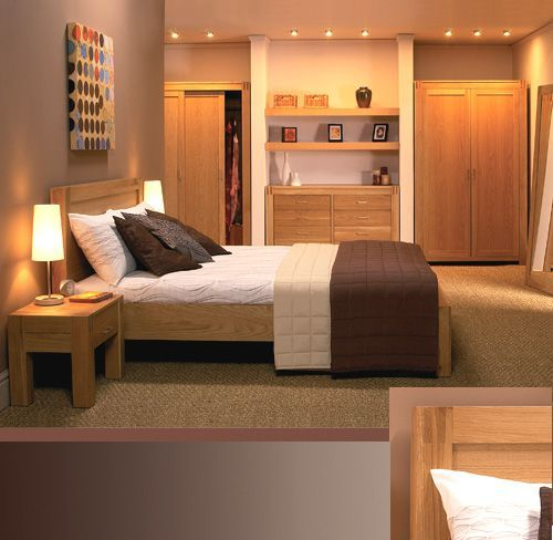 contemporary oak bedroom furniture (With images) Oak