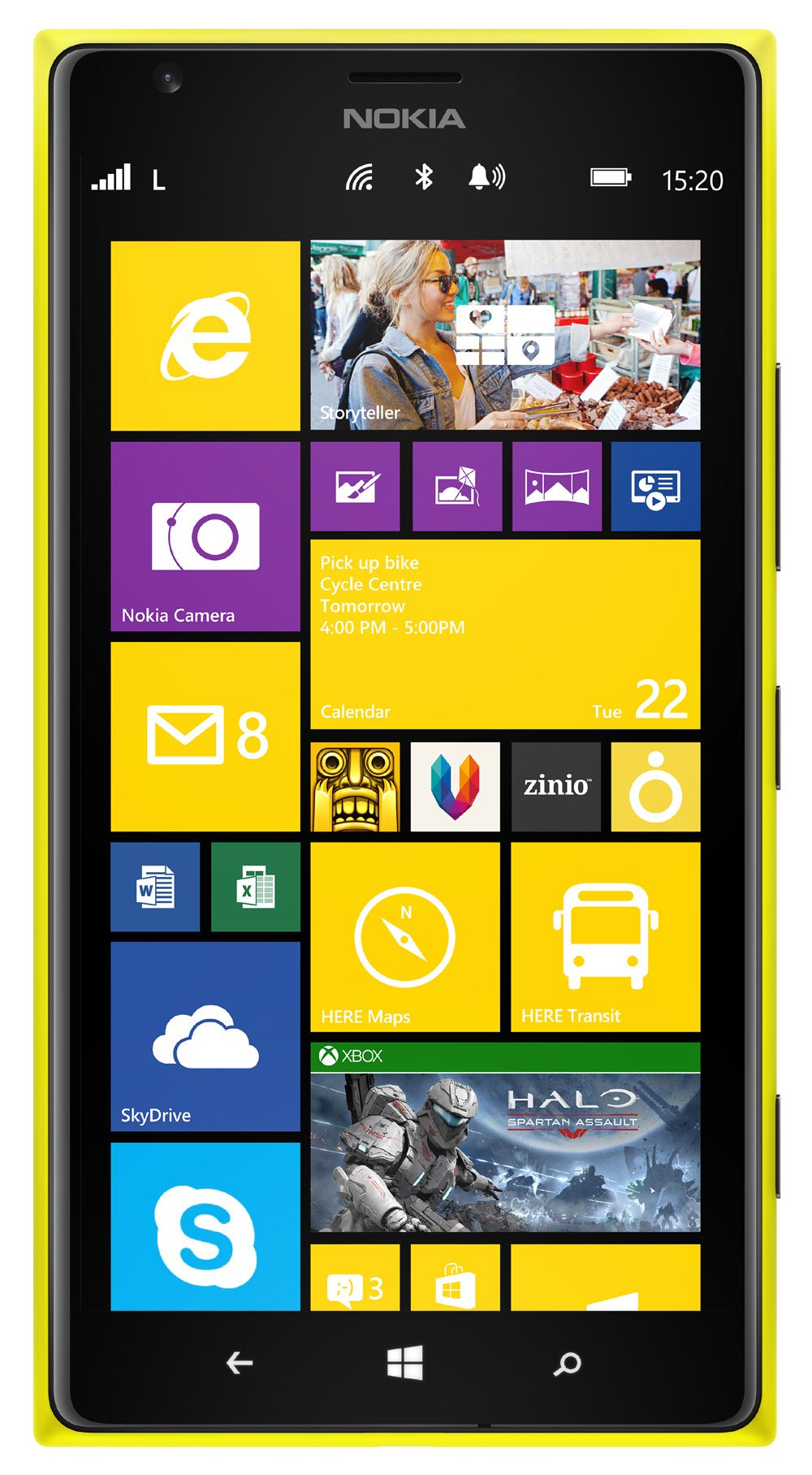 Nokia Lumia 1525 Vs 1520