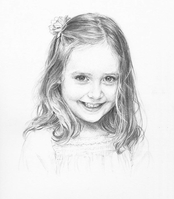 Drawing Gallery • Pencil Portrait Artist Anna Bregman ...