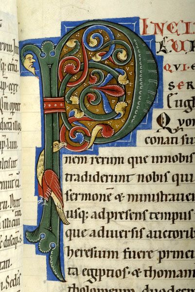 Gospel book, MS M.808 fol. 15r - Images from Medieval and Renaissance Manuscripts - The Morgan Library & Museum