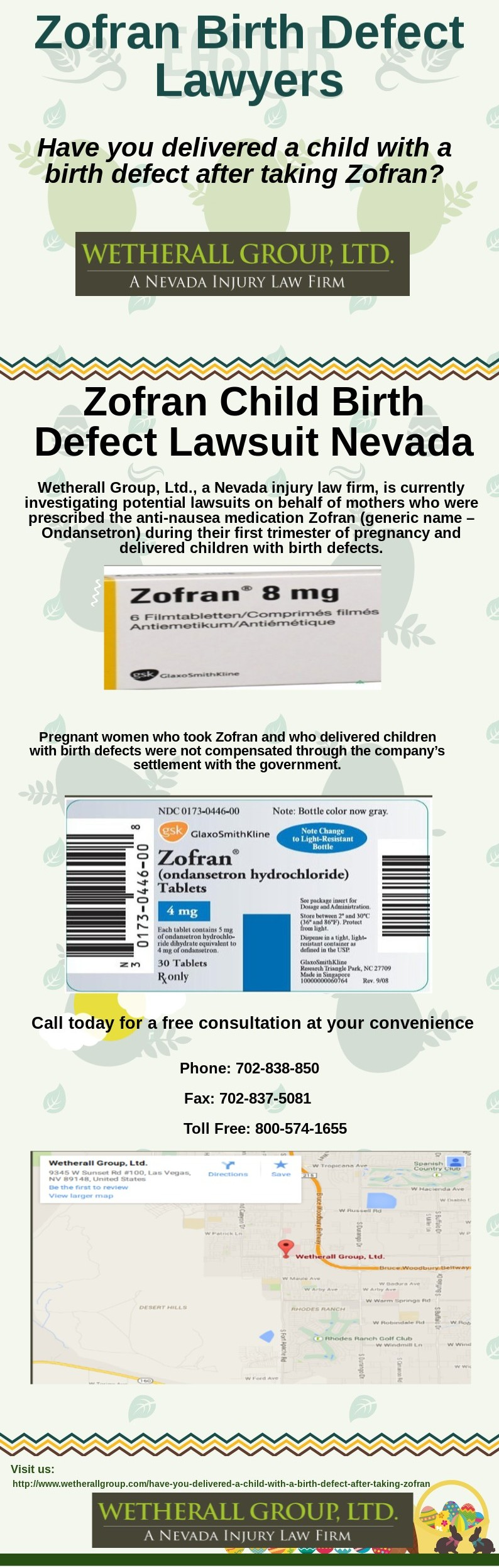 Pin on Zofran Pregnancy Birth Defects Lawyers in Las Vegas