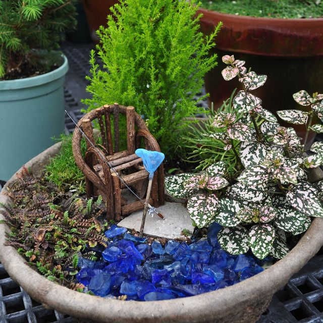 Planter Gallery - Miniature Gardening For the Garden Pinterest