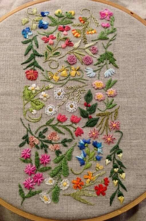 Pin By Patti Geise On Embroidery Pinterest Embroidery Hand