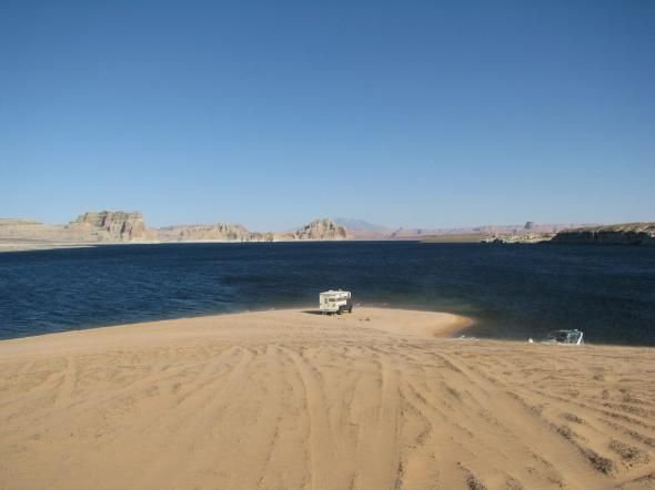 Lone Rock Beach Lake Powell The Impossible Astronaut Doctor Who