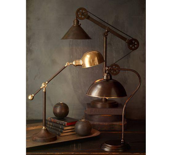 Warren Pulley Task Table Lamp Lamp Table Lamp Floor Lamp Table