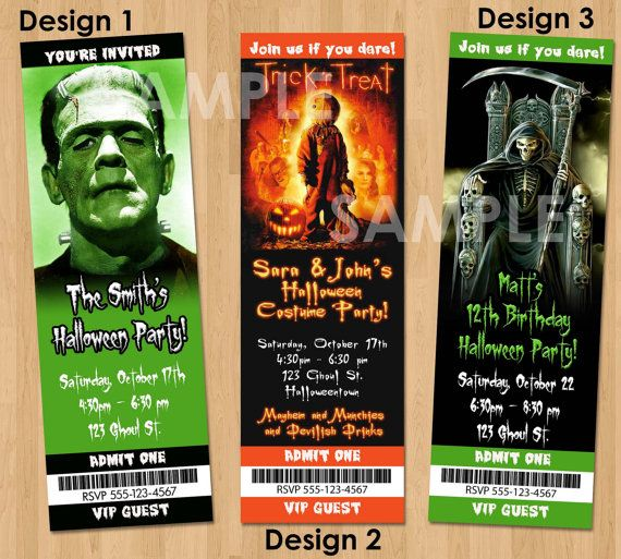 Halloween Invitation Halloween Ideas Pinterest Halloween - halloween ideas party