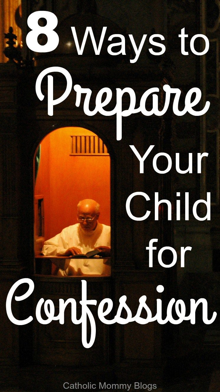 How to prepare for confession