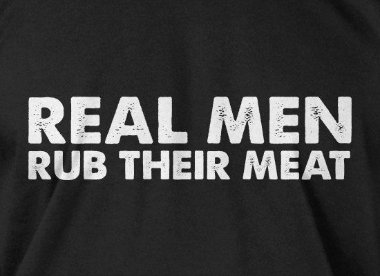6dc559245 Funny BBQ T-shirt pit master smoker Grill Tee Real Men Rub Their Meat T-Shirt  Gifts for Dad Shirt Mens Ladies Womens on Etsy, $14.99