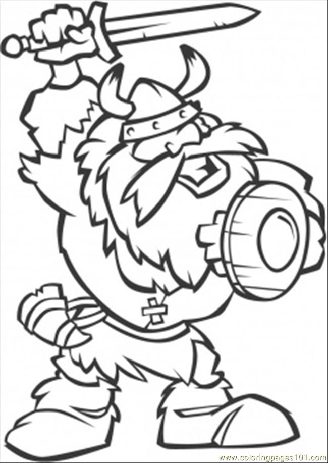 Pin by Lina Sanchez on printable Pinterest Viking party - new football coloring pages vikings