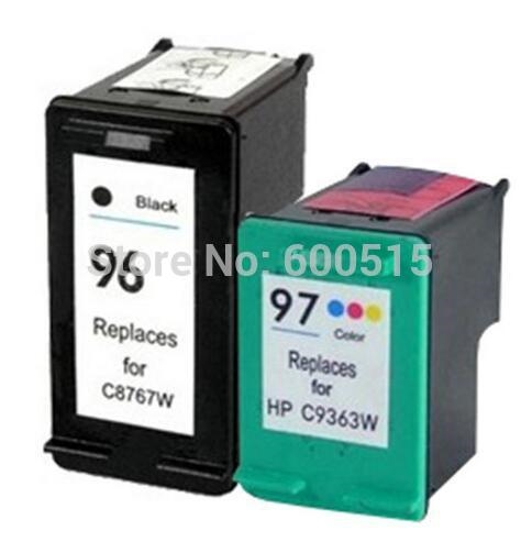 13.12$  Buy now - http://ali1xl.shopchina.info/go.php?t=32730684099 - 2pcs Compatible ink cartridge HP96 HP97 for Deskjet 5740/6540/6840/9800/Psc1610/2355/2575/Photosmart 325/335/375/385/425/2710  13.12$ #buyonline