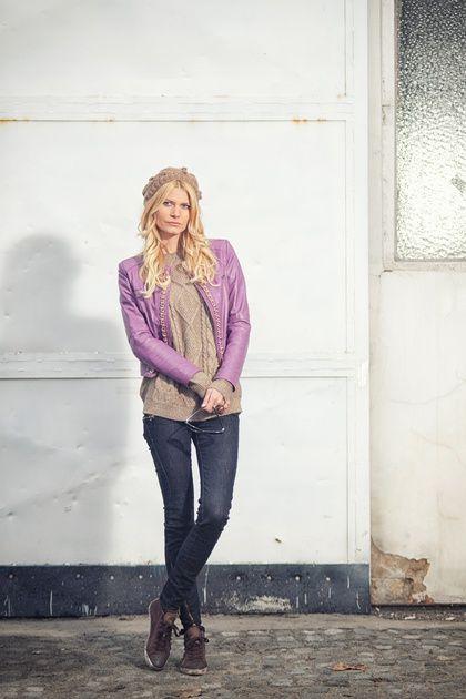 Violet jacket por JovanaJokic