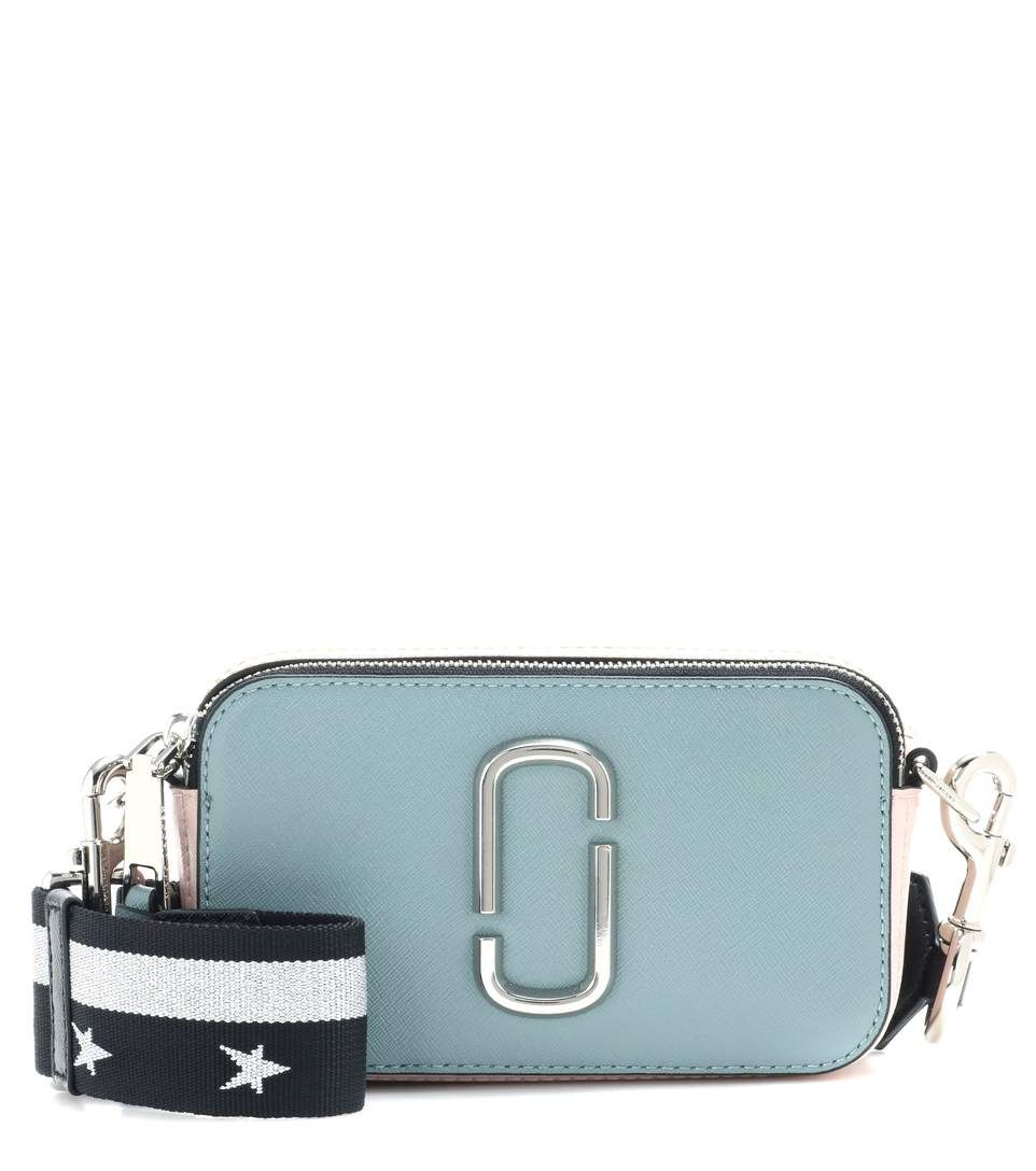 781d3cecb35a MARC JACOBS Snapshot Small leather camera bag.  marcjacobs  bags  leather   lining  accessories  metallic  shoulder bags  wallet  cosmetic