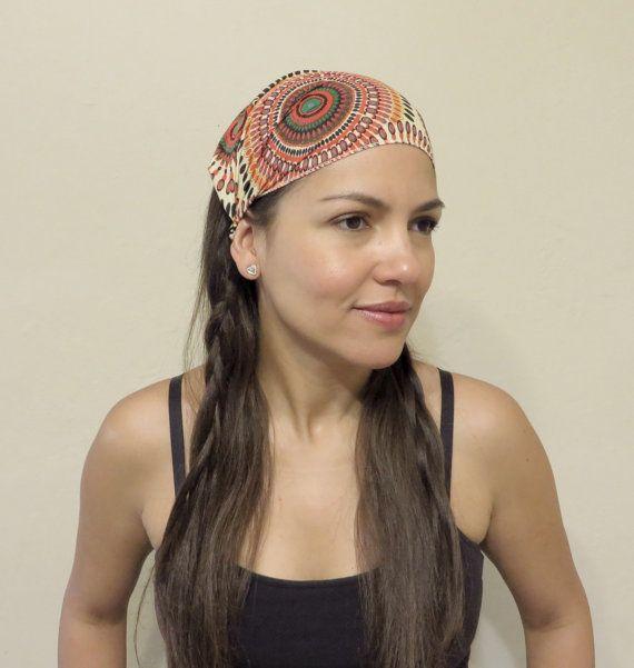 Bohemian Headwrap Yoga Headband Wide Headband Head Scarf Hippie Headband  Fitness Workout Headband Hair Accessories Festival Women Headband 86c4de75c4bf
