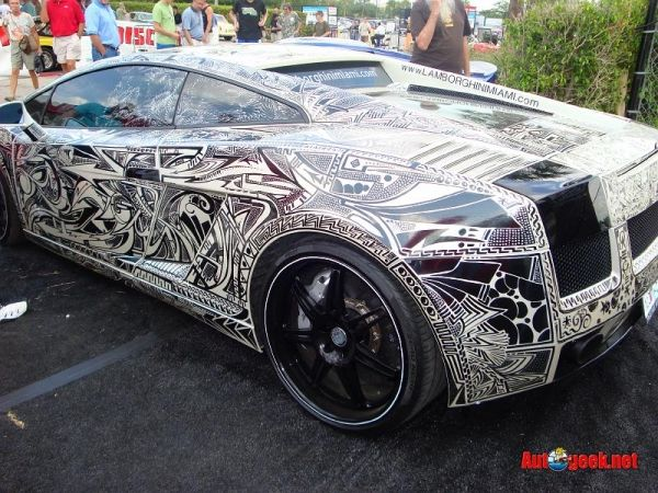 Not My Style Of Car But What An Interesting Paint Job Style - Cool painted cars