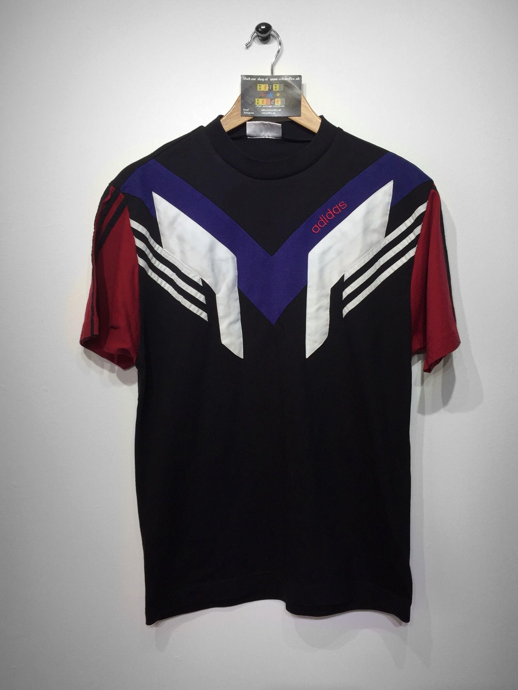 Adidas T-Shirt size X Small £28 Website➡ www.retroreflex.uk  vintage   adidas  oldschool  truevintage  fashion  style 124a72b60