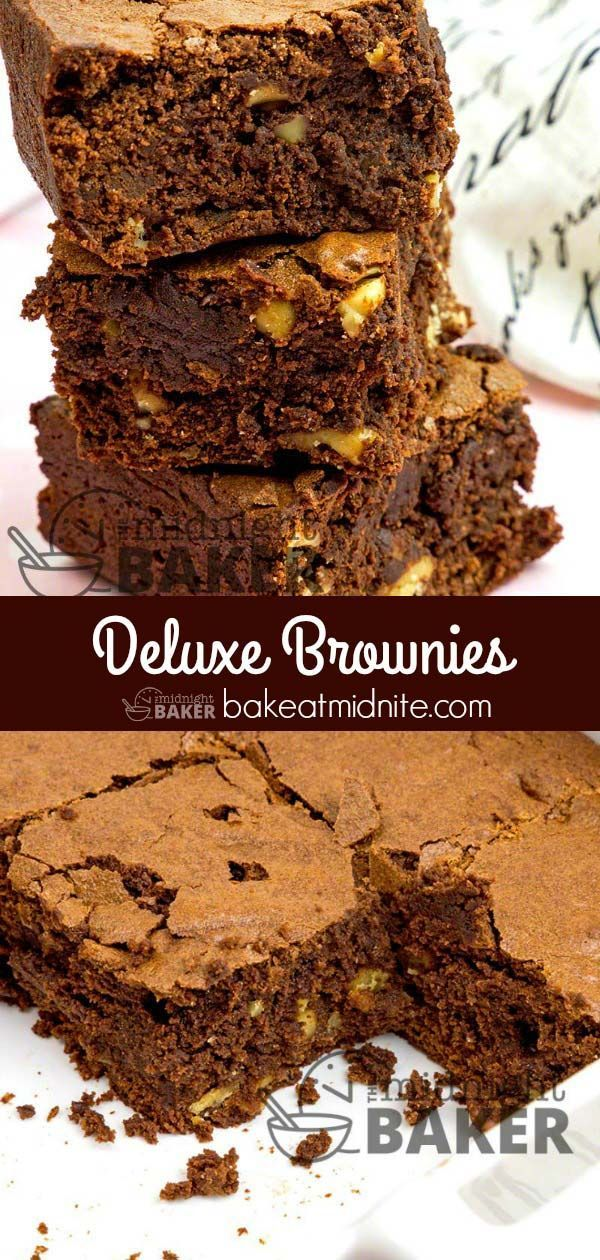 Deluxe Brownies Classy gourmet brownies everyone will love!