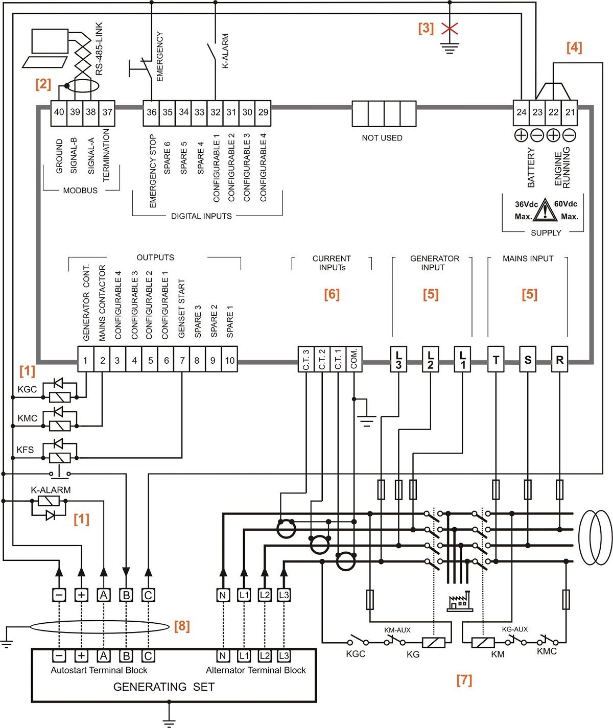 Alternator Terminal Block And Engine Running For Onan Generator Wiring Schematic Wiring Diagr Esquemas Electricos Diagrama De Instalacion Electrica Electrica