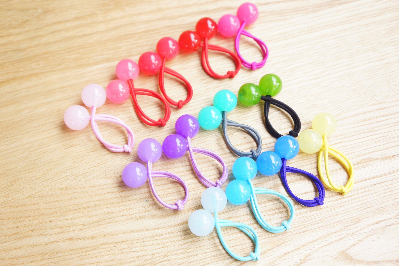 hair bobbles hair bands