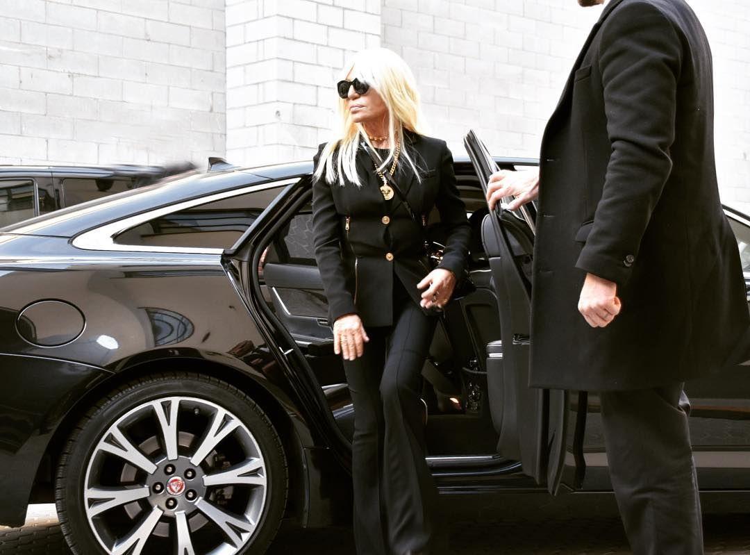 Donatella Versace On Instagram Show Day Here We Go