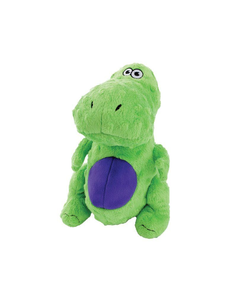 Godog Just For Me T Rex With Chew Guard Technology Tough Plush Dog
