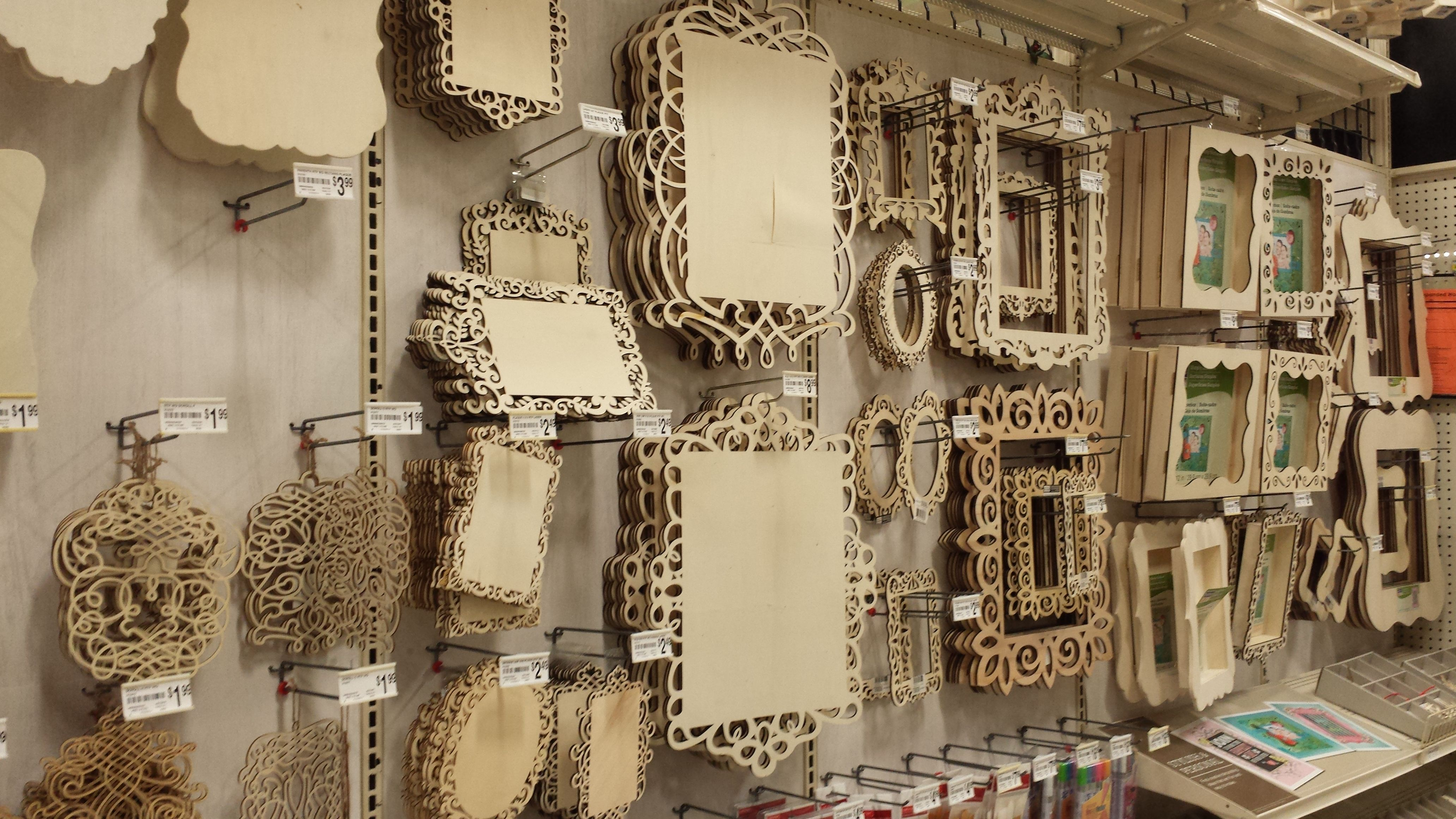 Michaels laser cut frames | laser ideas | Pinterest | Cosas ...