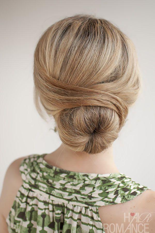 30 Buns In 30 Days Day 29 The Wrapped Bun Hair Romance Hair Styles Hair Donut Hair Romance