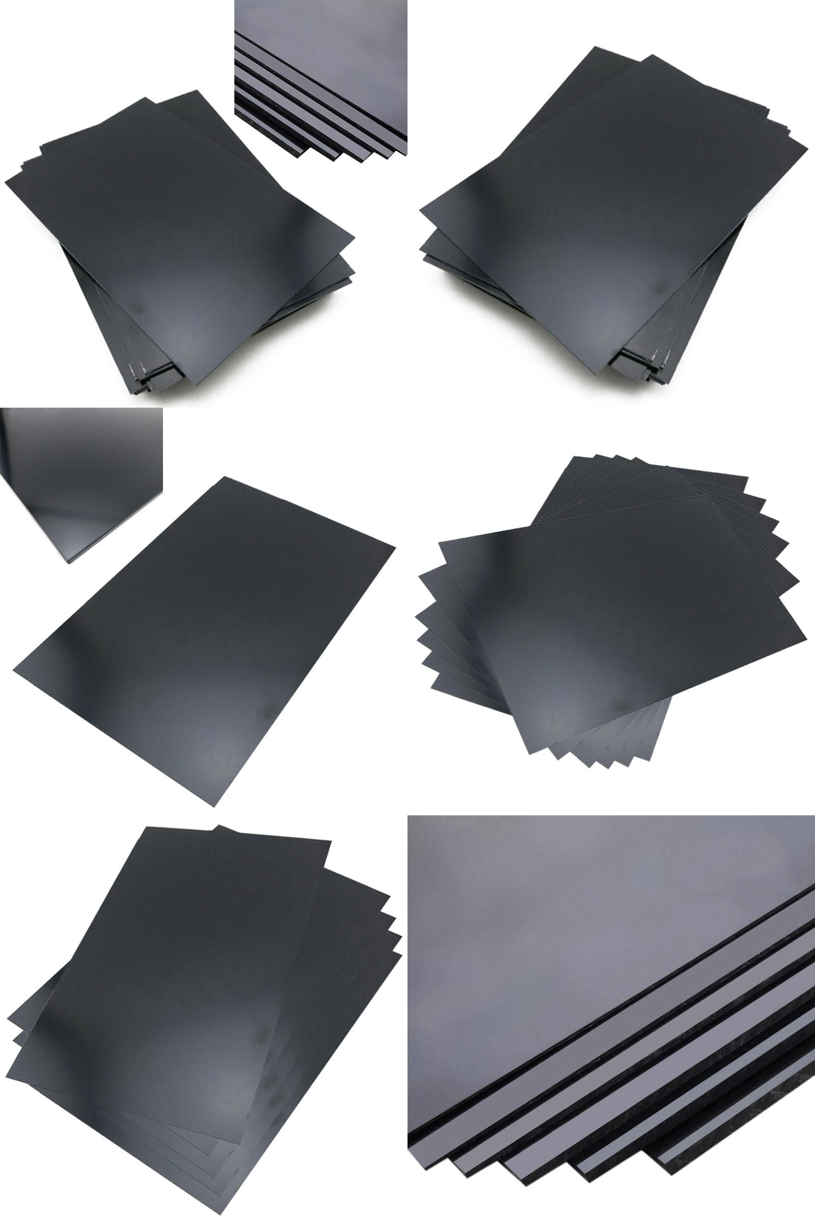 Visit To Buy 1pc Durable Abs Styrene Plastic Plate Sheet Plastic Flat Sheet 1mm X 200mm X 300mm Black Advertisement With Images Styrene Plastic