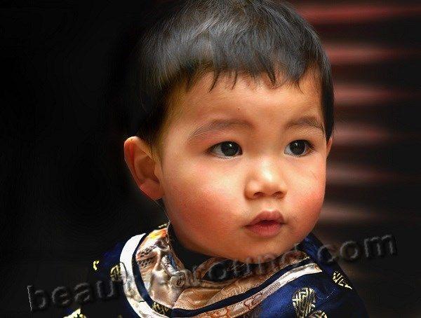 красивый китайский мальчик фото