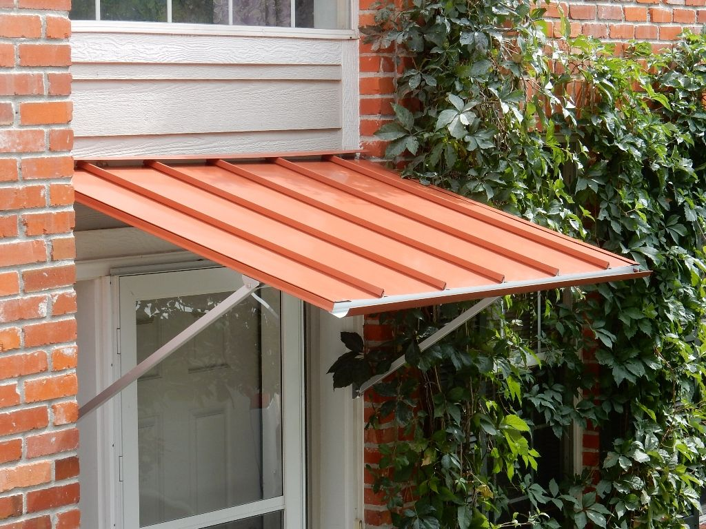Austin Standing Seam Door Awning Door Awnings Indoor Awnings Awning
