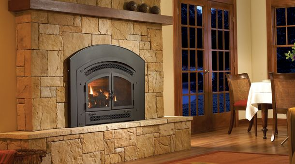 Gas Inserts Direct Vent Gas Inserts Milford Ct The Cozy Flame