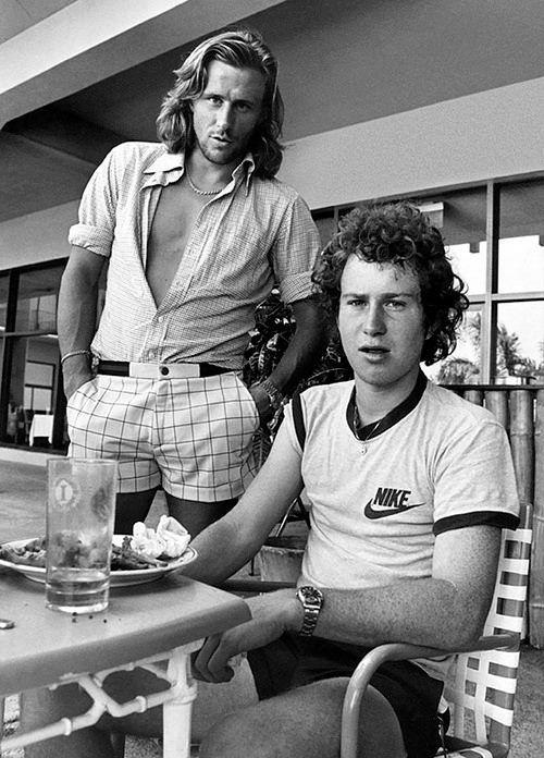 Björn Borg & John McEnroe in Jamaica, 1978. Photographer Scanpix Sweden